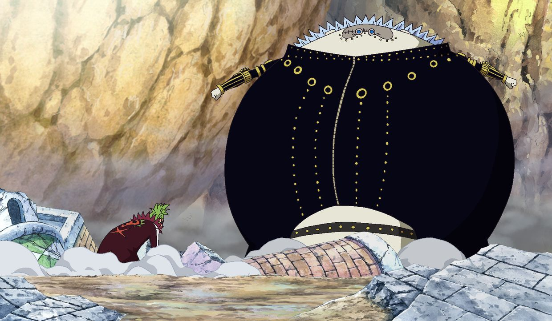 Bartolomeo (l.); Gladius (r.) - Bildquelle: Eiichiro Oda/Shueisha, Toei Animation