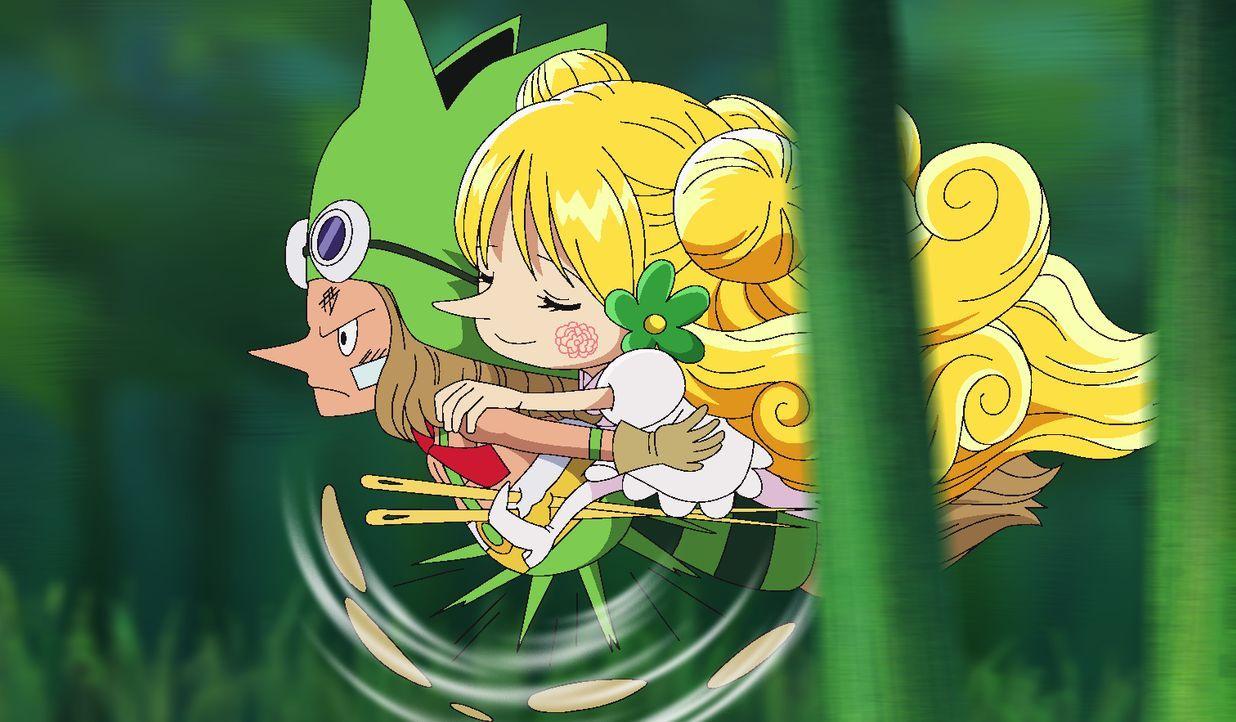 Leo (l.); Mansherry (r.) - Bildquelle: Eiichiro Oda/Shueisha, Toei Animation