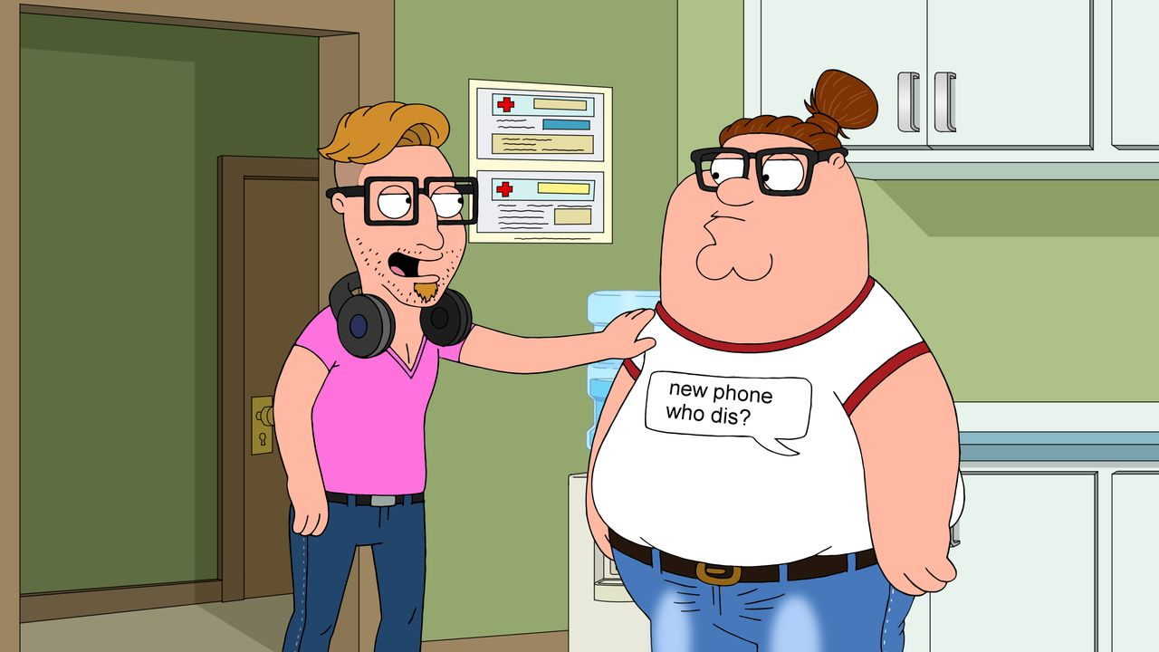 Hammer (l.); Peter Griffin (r.) - Bildquelle: 2018-2019 Fox and its related entities. All rights reserved.
