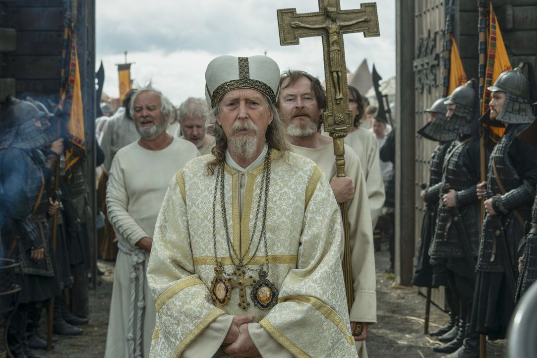 Priester (Guy Carleton) - Bildquelle: 2020 TM Productions Limited / T5 Vikings IV Productions Inc. All Rights Reserved. An Ireland-Canada Co-Production.