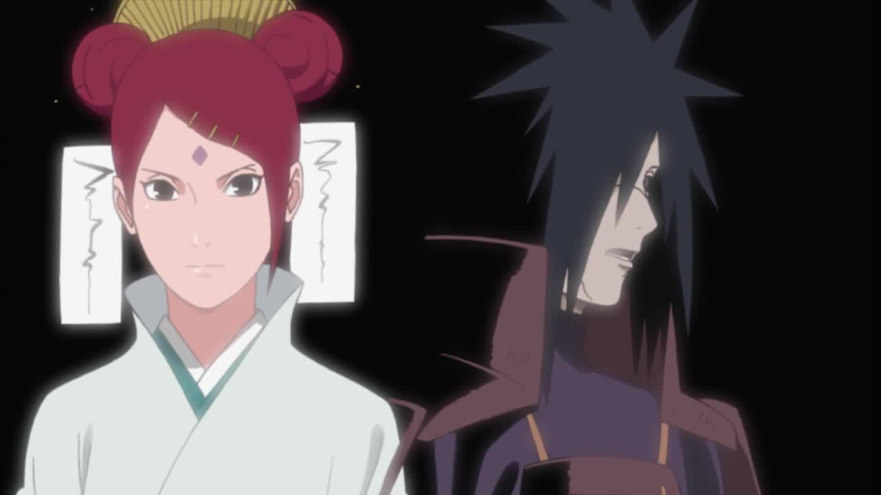 Madara erinnert sich an Mitglied des Uzumaki-Clans
