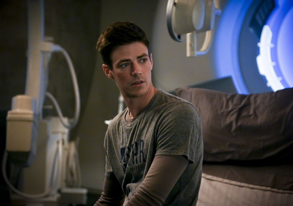 Barry Allen (Grant Gustin) - Bildquelle: Sergei Bachlakov 2019 The CW Network, LLC. All rights reserved. / Sergei Bachlakov