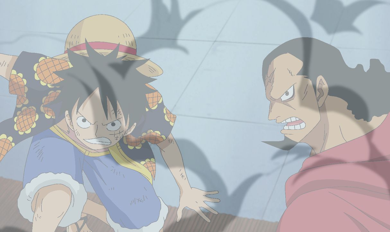 Ruffy (l.); Kyros (r.) - Bildquelle: Eiichiro Oda/Shueisha, Toei Animation