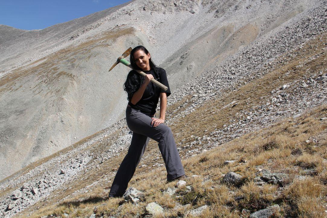 (1. Staffel) - Jeden Sommer begeben sich die Rocky Mountain Miners auf die Jagd nach den berüchtigten Edelsteinen und Kristallen in den Rocky Mounta... - Bildquelle: High Noon Entertainment 2014
