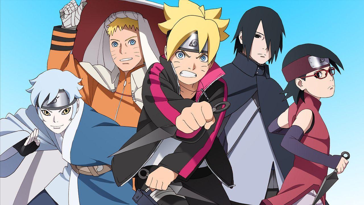 Boruto: Naruto The Movie - Artwork - Bildquelle: 2002 MASASHI KISHIMOTO /2007 Shippuden   NMP 2015