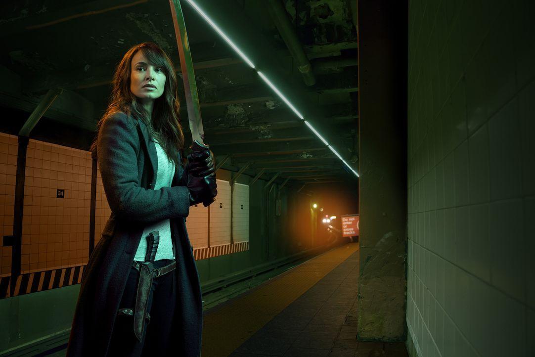 (2. Staffel) - Nora Martinez (Mía Maestro) hofft darauf, ein Wundermittel gegen die Infizierten zu finden ... - Bildquelle: 2015 Fox and its related entities. All rights reserved.