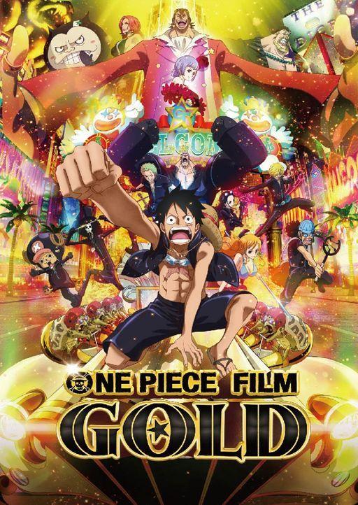 "One Piece: Gold - Artwork - Bildquelle: Eiichiro Oda/Shueisha, Toei Animation © Eiichiro Oda/""2016 One Piece"" production committee"