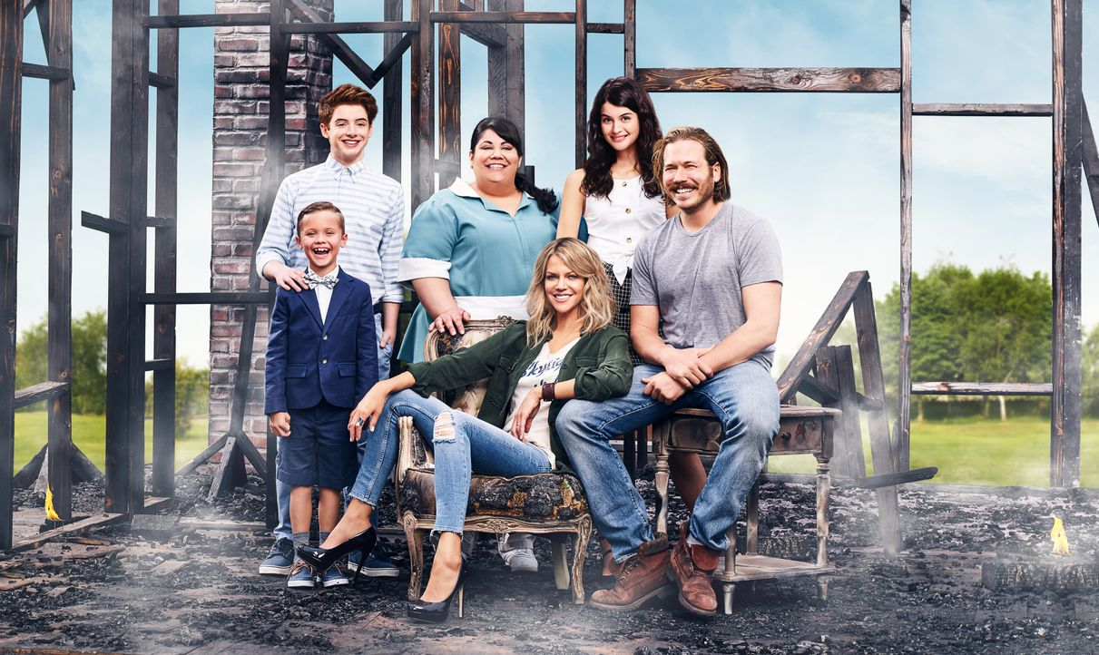 (2. Staffel) - Auf (v.l.n.r.) Ben (Jack Stanton), Chip (Thomas Barbusca), Alba (Carla Jimenez), Mickey (Kaitlin Olson), Sabrina (Sofia Black-D'Elia)... - Bildquelle: 2017-2018 Fox and its related entities.  All rights reserved.