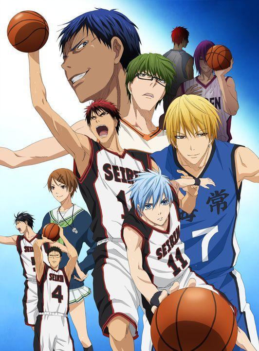(1. Staffel) - Kuroko's Basketball - Artwork - Bildquelle: Tadatoshi Fujimaki/SHUEISHA,Team Kuroko