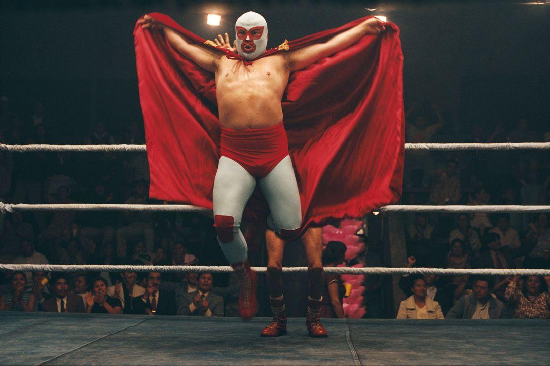 David gegen Goliath: Da seine Glaubensbrüder für das Wrestling wenig christliche Demut aufbringen können, muss Mönch Ignacio (Jack Black) seine wahr... - Bildquelle: Paramount Pictures