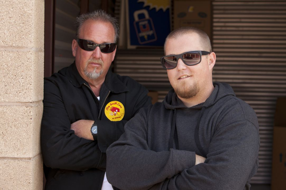 (v.l.n.r.) Darrell Sheets; Brandon Sheets - Bildquelle: A&E Television Networks, LLC. All Rights Reserved.