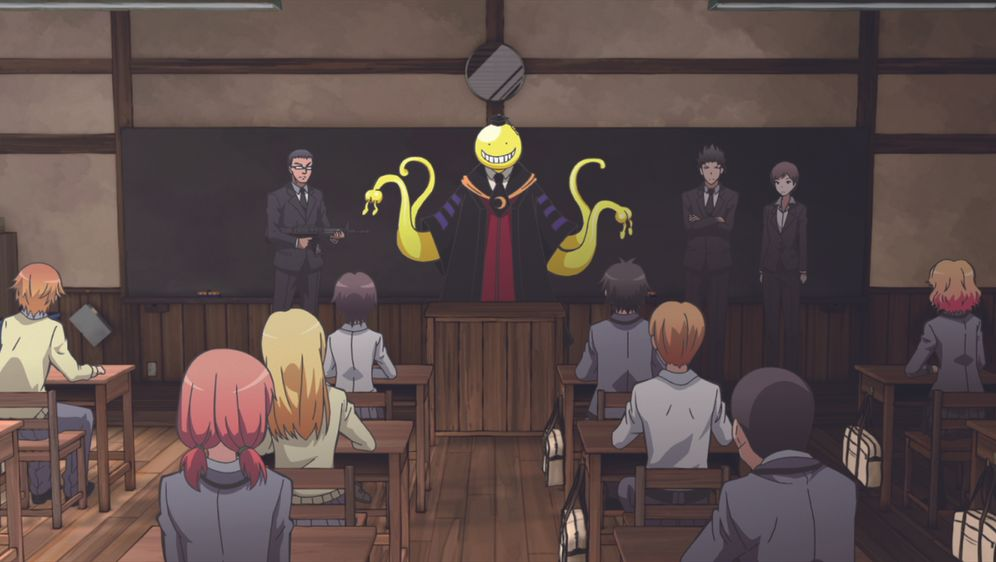 Assassination Classroom - Bildquelle: Yusei Matsui/SHUEISHA,ASSASSINATION CLASSROOM Committee