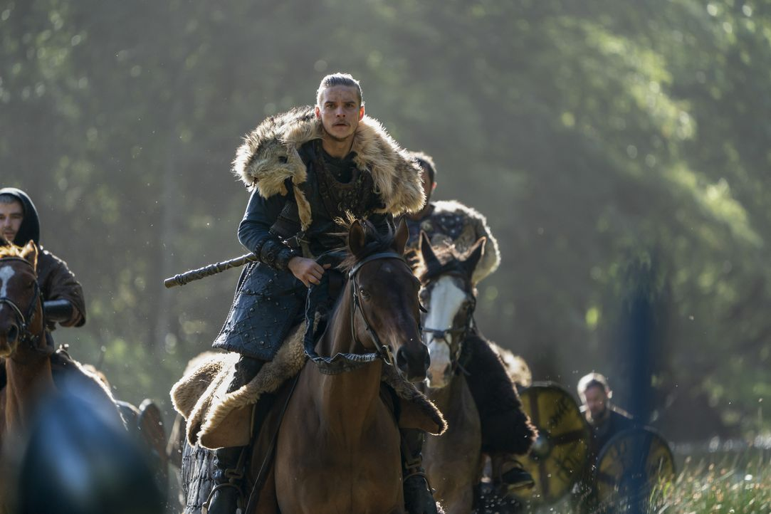 Hvitserk (Marco Ilsø) - Bildquelle: 2020 TM Productions Limited / T5 Vikings IV Productions Inc. All Rights Reserved. An Ireland-Canada Co-Production.