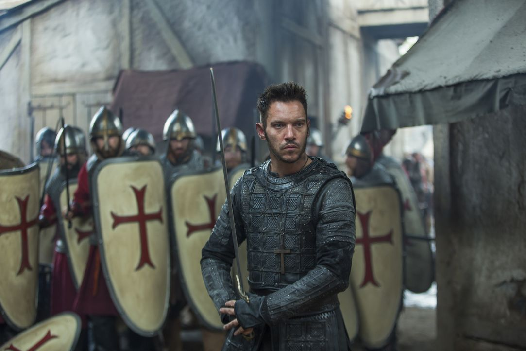 Um das Reich zu verteidigen, muss Bischof Heahmund (Jonathan Rhys Meyers), der Kriegsbischof, die Sachsen vereinen. Doch das gestaltet sich mehr als... - Bildquelle: 2017 TM PRODUCTIONS LIMITED / T5 VIKINGS III PRODUCTIONS INC. ALL RIGHTS RESERVED.