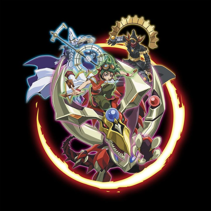 (1. Staffel) - YU-GI-OH! ARC V - Artwork - Bildquelle: 1996 Kazuki Takahashi  2014 NAS - TV TOKYO