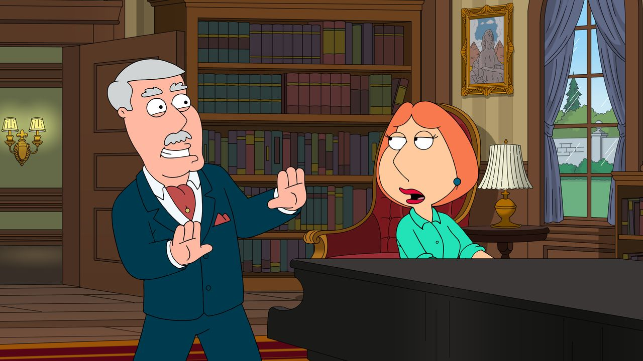 Carter Pewterschmidt (l.), Lois Griffin (r.) - Bildquelle: 2018-2019 Fox and its related entities. All rights reserved.