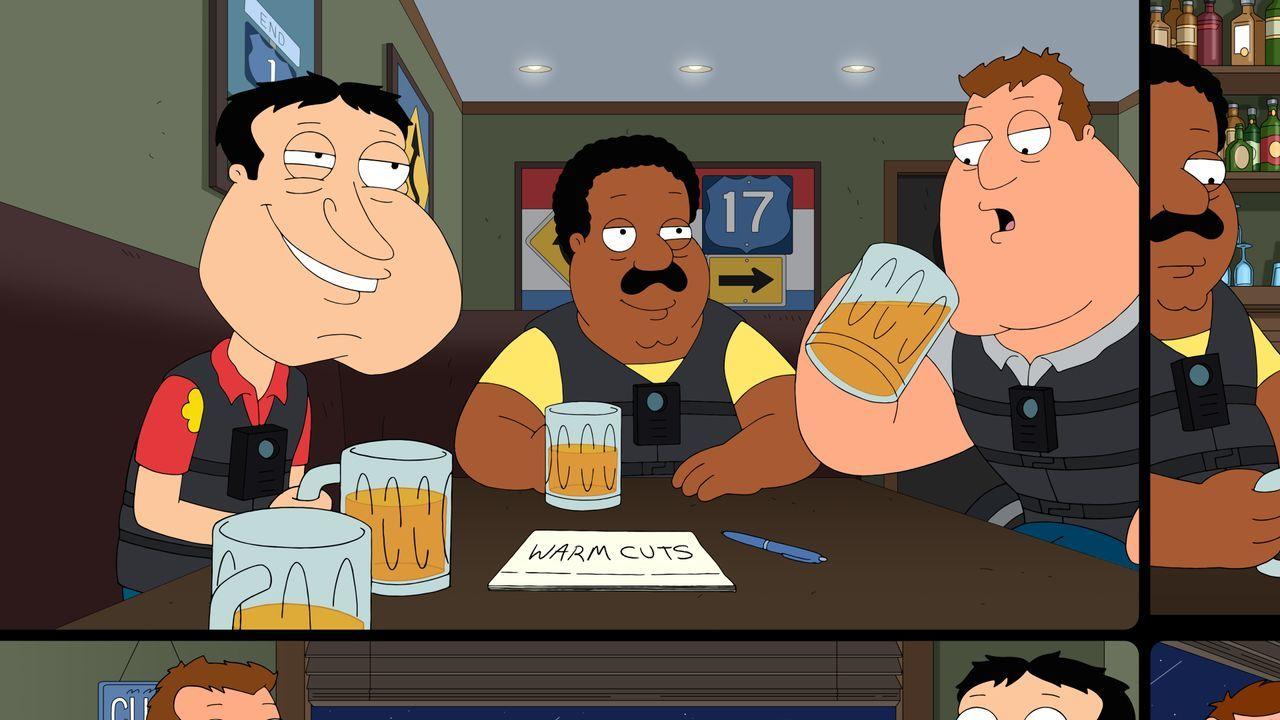 Peter und seine Freunde sind davon überzeugt, dass ihnen unter Alkoholeinflu... - Bildquelle: 2020-2021 Twentieth Century Fox Film Corporation. All rights reserved.