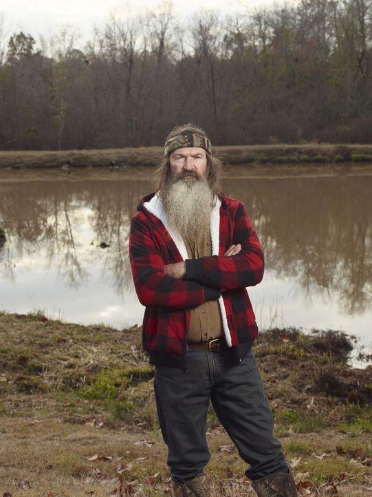 """Phil (Phil Robertson) ist der Vater von Willie, Jase, Jep und Alan Robertson. Zusammen mit seinen Söhnen betreibt er """"Duck Commander"""", ein floriere... - Bildquelle: Brian Bowen Smith 2012 A+E Networks"""