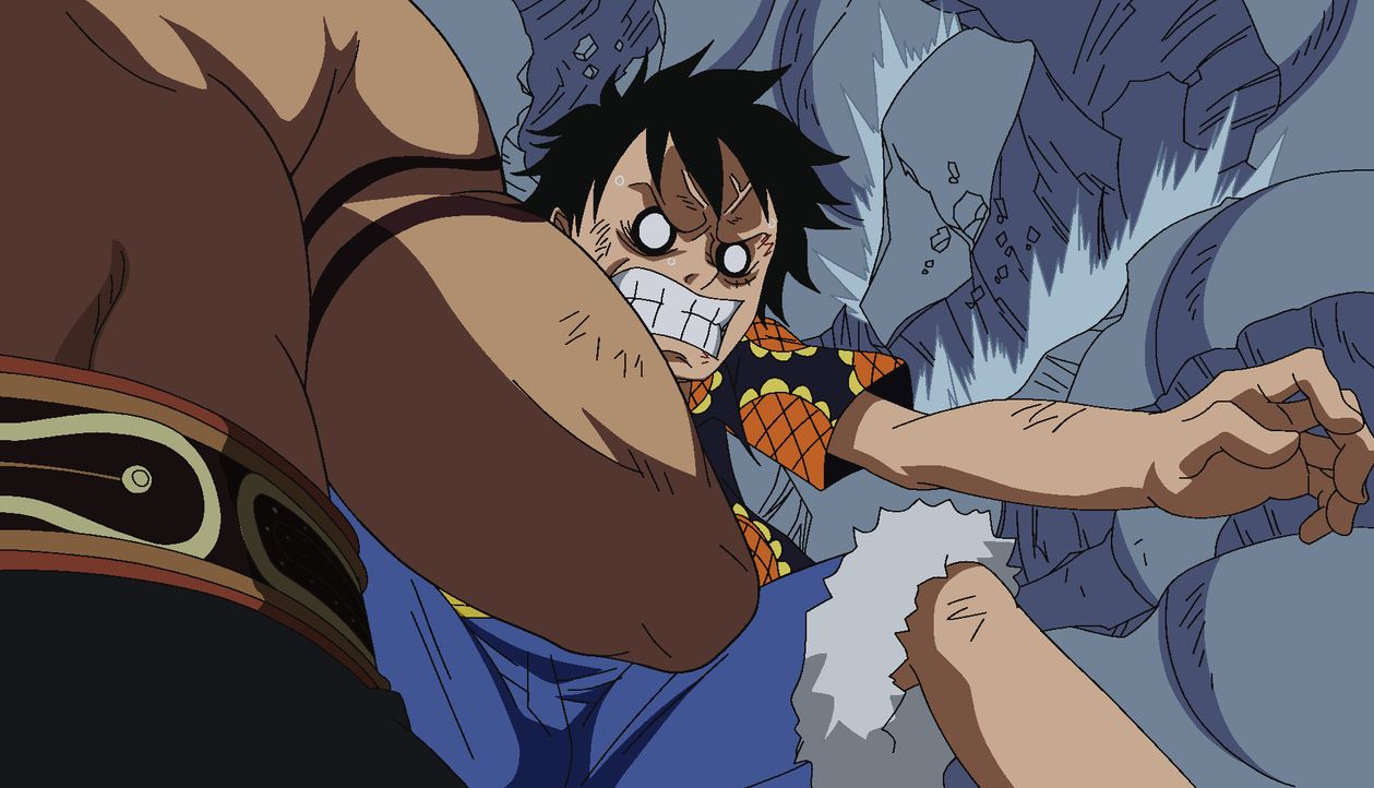Ruffy - Bildquelle: Eiichiro Oda/Shueisha, Toei Animation