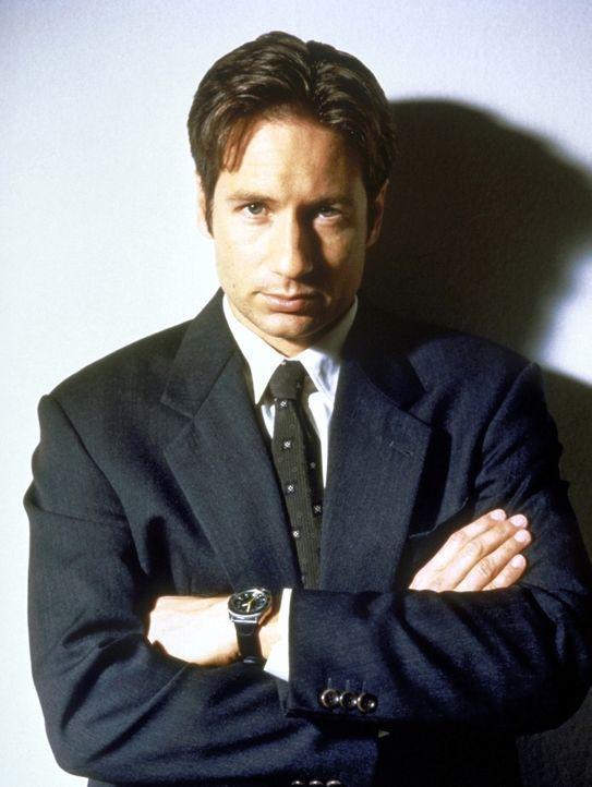 (7. Staffel) - FBI-Agent Fox Mulder (David Duchovny) befasst sich mit der Aufklärung längst abgelehnter Fälle ... - Bildquelle: TM +   2000 Twentieth Century Fox Film Corporation. All Rights Reserved.