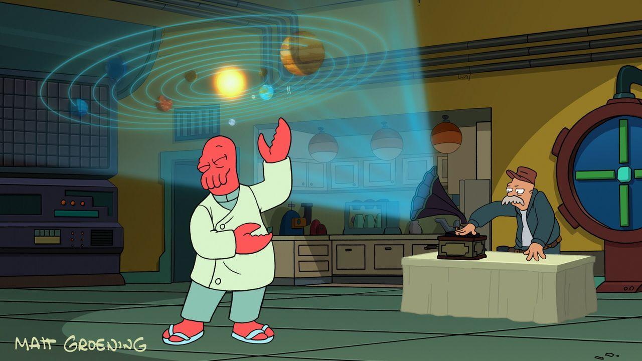 Während Zoidberg (l.) noch die Arbeitsparty genießt, passiert Conrad etwas Schreckliches ... - Bildquelle: 2007 Twentieth Century Fox Film Corporation. All rights reserved.
