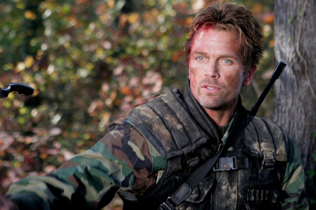 Als Russo (David Chokachi) und seine Soldaten in die Wälder Afghanistans eindringen, treffen sie auf eine Gefahr, die viel größer ist, als der gesuc... - Bildquelle: CPT Holdings, Inc. All Rights Reserved. (Sony Pictures Television International)