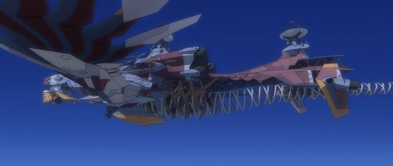 Schaffen es Shinji und Kaworu, den Fourth Impact aufzuhalten? - Bildquelle: khara, GAINAX. All rights reserved