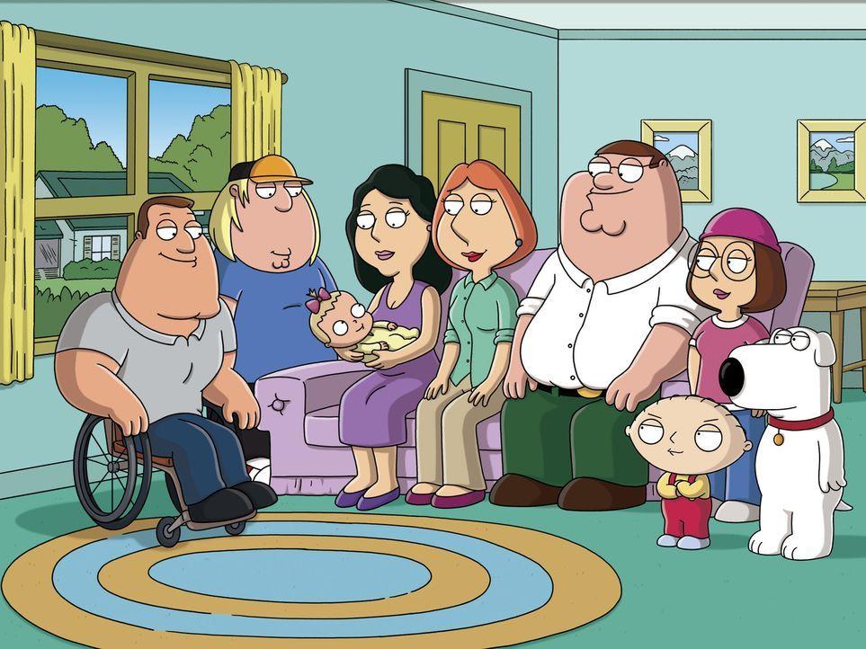 Familie Griffin beschließt ihren Freund Joe (l.), der gerade Vater geworden ist, finanziell zu unterstützen ... - Bildquelle: 2006-2007 Twentieth Century Fox Film Corporation. All rights reserved