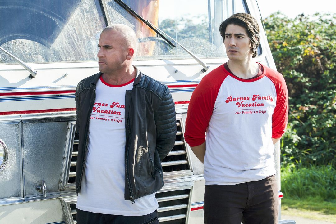 Rory (Dominic Purcell, l.); Ray (Brandon Routh, r.) - Bildquelle: Shane Harvey 2019 The CW Network, LLC. All rights reserved. / Shane Harvey