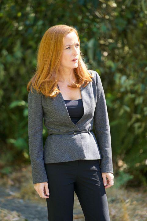 Gerät auch Scully (Gillian Anderson) ins Visier zweier mörderischer Zwillinge? - Bildquelle: Shane Harvey 2017 Fox and its related entities. All rights reserved. / Shane Harvey