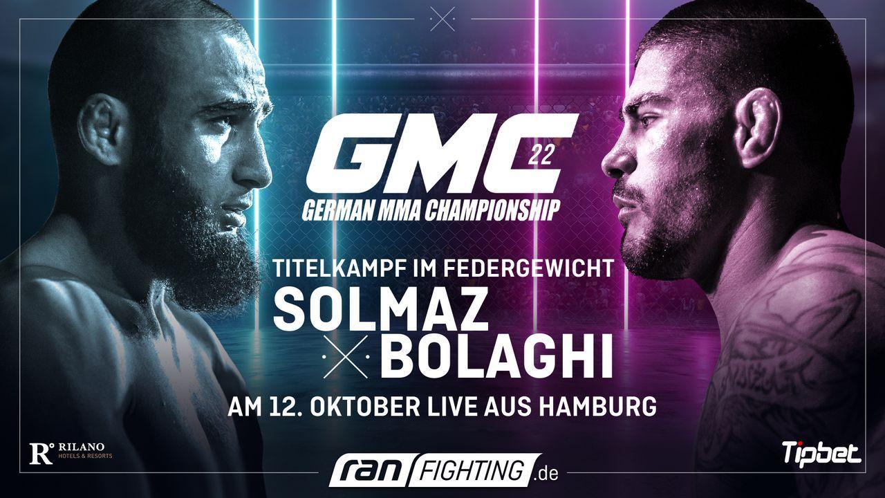 ran Fighting: GMC22 - Plakat - Bildquelle: ProSieben MAXX/Seven Sport