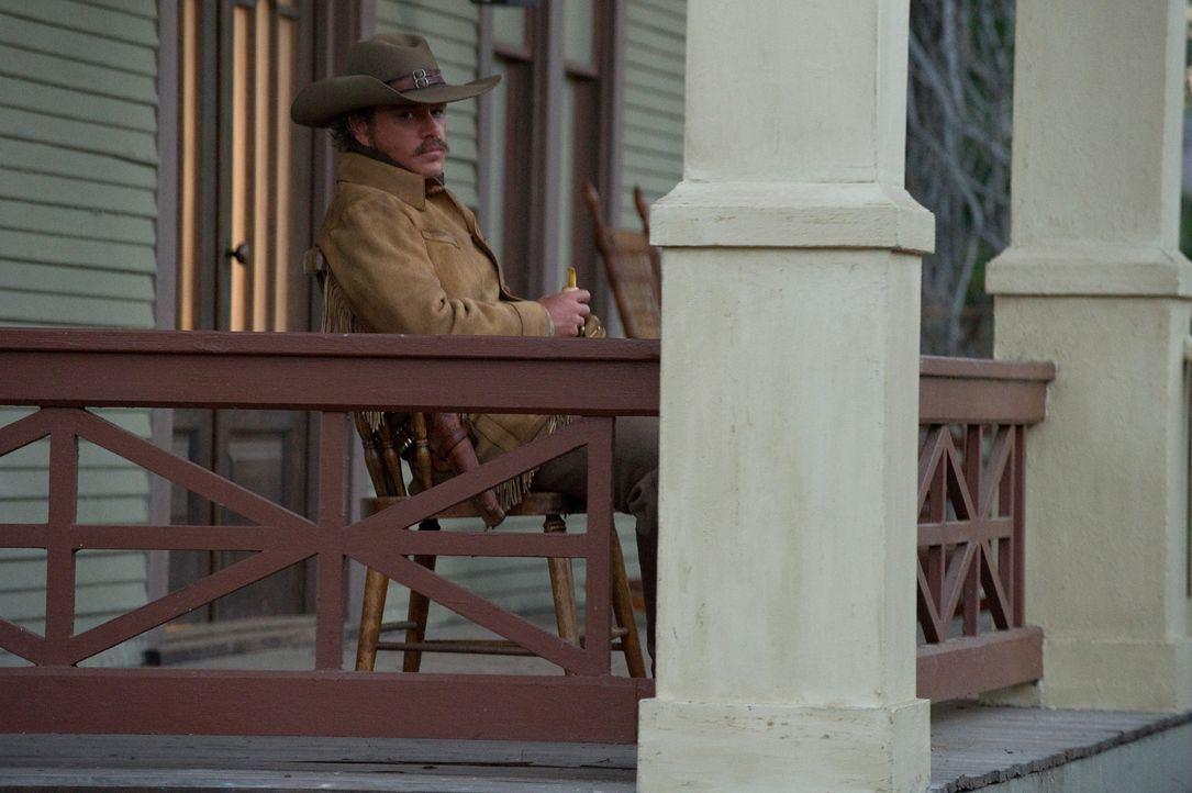 Auf der Jagd nach einem Mörder, auf den ein hohes Kopfgeld ausgesetzt ist, stößt LaBoeuf (Matt Damon) eines Tages auf die 14-jährige Mattie, die den... - Bildquelle: (2010) PARAMOUNT PICTURES. All rights reserved.