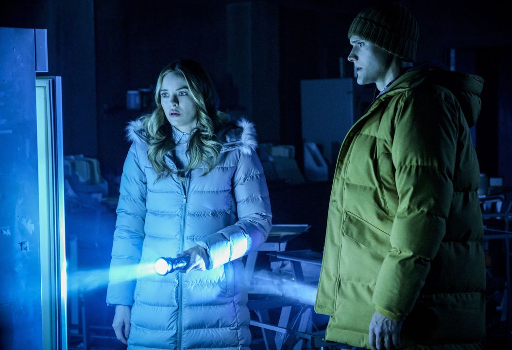Caitlin (Danielle Panabaker, l.); Ralph (Hartley Sawyer, r.) - Bildquelle: Jeff Weddell 2018 The CW Network, LLC. All rights reserved. / Jeff Weddell