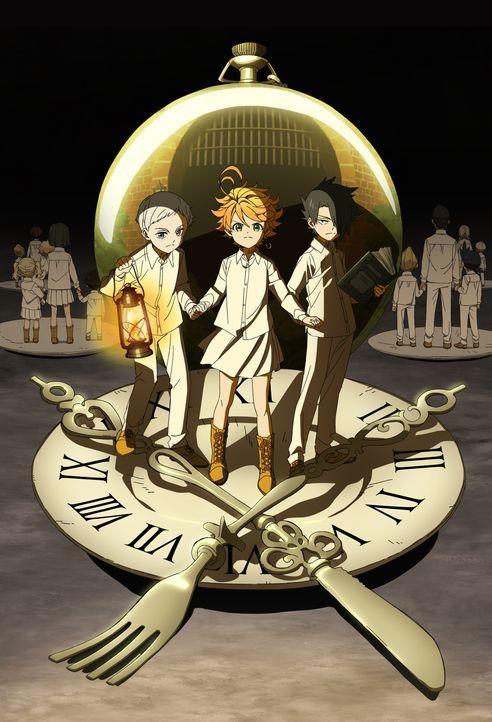 (1. Staffel) - Promised Neverland - Artwork - Bildquelle: KAIU SHIRAI,POSUKA DEMIZU/SHUEISHA,THE PROMISED NEVERLAND COMMITTEE