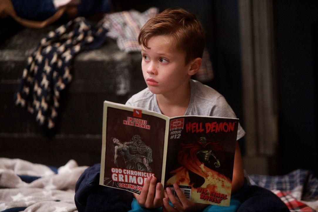Hält es mit seinem Bruder einfach nicht mehr in einem Zimmer aus: Ben (Jack Stanton) ... - Bildquelle: 2017-2018 Fox and its related entities.  All rights reserved.