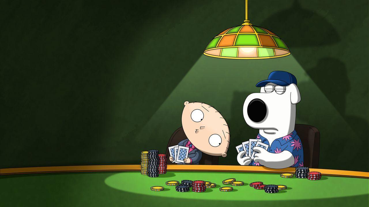 Reisen gemeinsam nach Las Vegas: Brian (r.) und Stewie (l.) ... - Bildquelle: 2013 Twentieth Century Fox Film Corporation. All rights reserved.