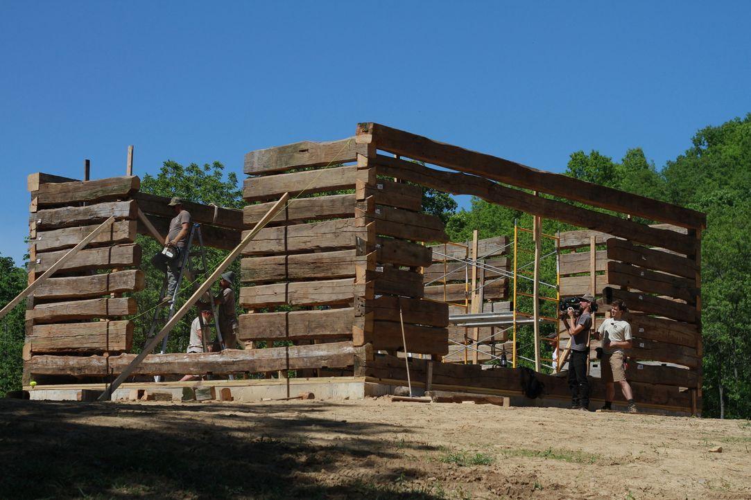 Carlisle in Kentucky ist das neue Ziel der Scheunen-Profis. Hier müssen sie sich einer neuen und aufregenden Herausforderung stellen und etwas bauen... - Bildquelle: 2015, DIY Network/Scripps Networks, LLC. All Rights Reserved.