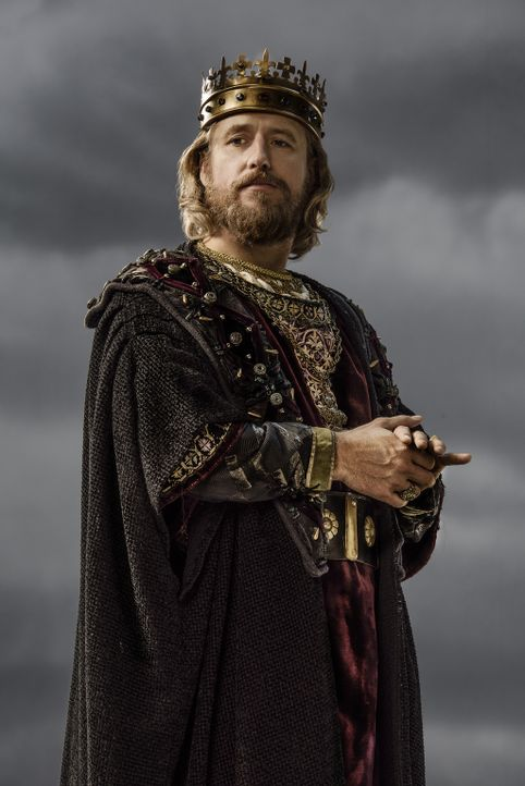 (3. Staffel) - Ist fest entschlossen, sich langfristig die Oberherrschaft über ganz England zu sichern: König Ecbert (Linus Roache) ... - Bildquelle: 2015 TM PRODUCTIONS LIMITED / T5 VIKINGS III PRODUCTIONS INC. ALL RIGHTS RESERVED.