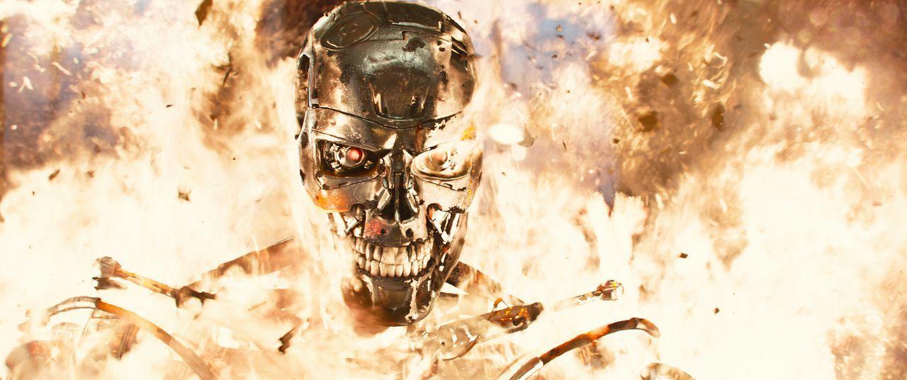 Was von Skynet erschafft wird, sorgt für Angst und Schrecken. Die Maschinen wollen mit allen Mitteln die Weltherrschaft an sich reißen ... - Bildquelle: 2015 PARAMOUNT PICTURES. ALL RIGHTS RESERVED.
