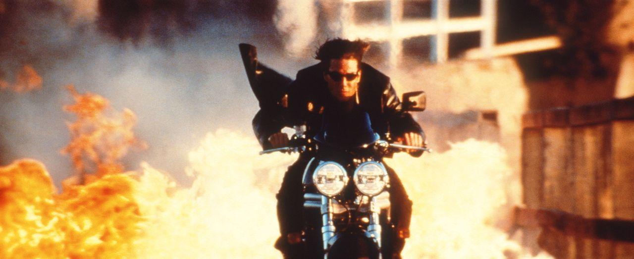 Bei der Rekrutierung von Ambroses Ex-Geliebter wird dem Spezialagenten Ethan Hunt (Tom Cruise) alles abverlangt ... - Bildquelle: Paramount Pictures