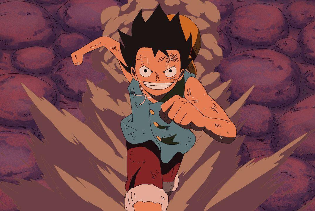 Ruffy, Mr.3, Buggy und Bon Curry haben tatsächlich Level 4 erreicht! Allerdi... - Bildquelle: Eiichiro Oda/Shueisha, Toei Animation