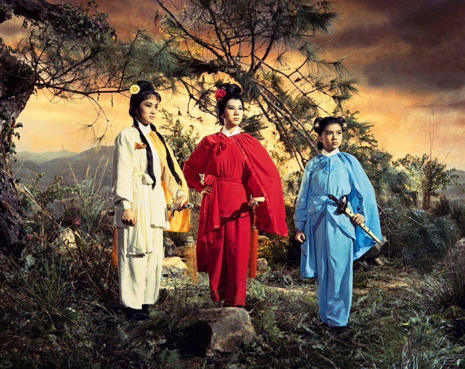 Kung-Fu-Klassiker aus den 60er Jahren: Der junge Kwai Wu macht sich auf den ... - Bildquelle: Licensed by peppermint enterprises Ltd. & Co. KG