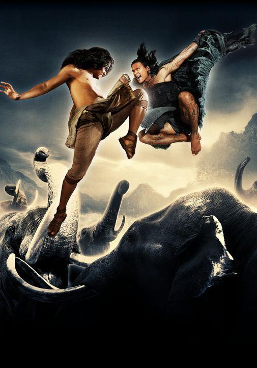 ONG BAK 2 - Artwork - mit Tony Jaa, r. - Bildquelle: Splendid Film
