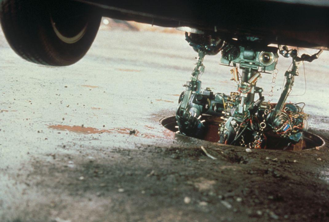 Roboter Nr. 5 verfügt über erstaunliche Körperkräfte ... - Bildquelle: Columbia TriStar Pictures