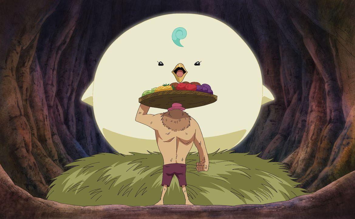 In alle Winde verstreut (2)! - Das Schloss der rosa Herzen und die Insel der Riesenvögel. - Bildquelle: Eiichiro Oda/Shueisha, Toei Animation