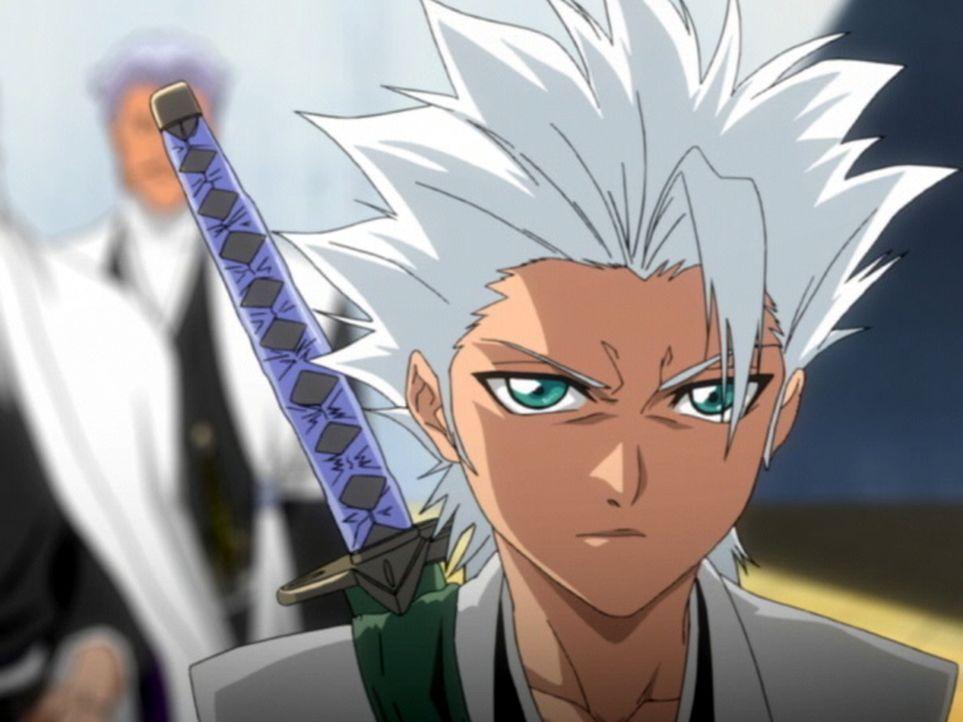 Für das Haupt der Soul Society steht fest, dass Kommandant Toshiro Hitsugaya (Bild) der Verräter ist, weshalb er ihn hinrichten lassen möchte. Doch... - Bildquelle: Tite Kubo / Shueisha, TV TOKYO, Dentsu, Pierrot.
