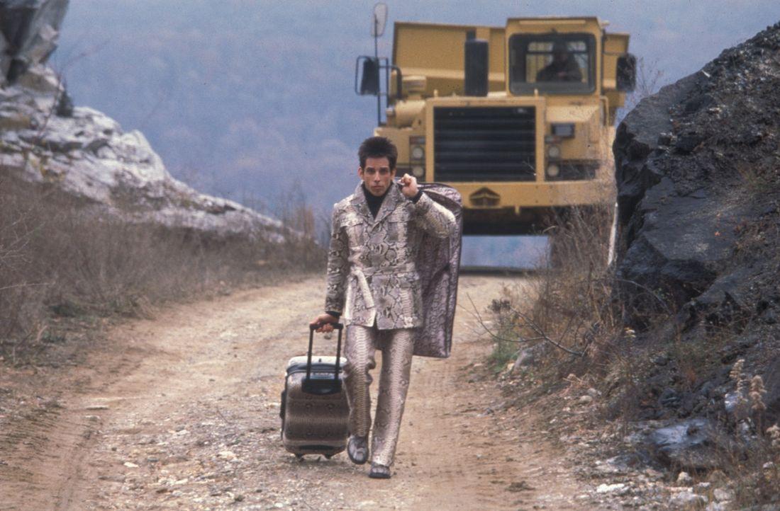 Weil der Staatschef von Malaysia die Kinderarbeit abschaffen will, wird Model Derek Zoolander (Ben Stiller) nach einer Gehirnwäsche auf ihn angesetz... - Bildquelle: Melinda Sue Gordon TM &  2001 by Paramount Pictures. All Rights Reserved.