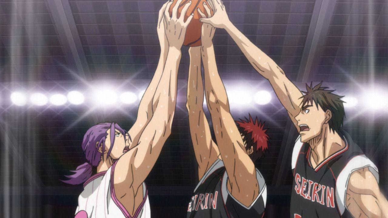 Das Spiel der Seirin Oberschule gegen die Yosen Oberschule scheint bereits z... - Bildquelle: Tadatoshi Fujimaki/SHUEISHA, Team Kuroko