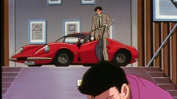 Ferrari Dino 206 GT bei Detektiv Conan
