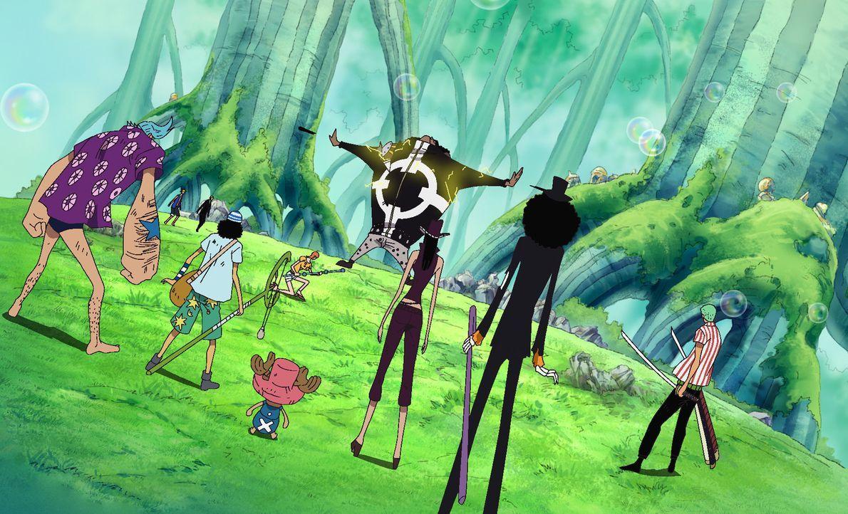 Ruffy und seine Crew merken, dass sie in den Kämpfen auf verlorenem Posten s... - Bildquelle: Eiichiro Oda/Shueisha, Toei Animation